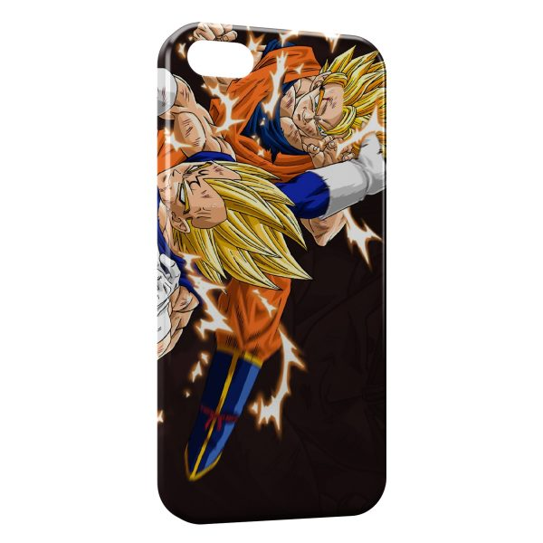 Coque iPhone 7 Plus Vegeta and Goku